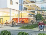 Auftraggeber: Stiftung Pfennigparade •  Architekt: Bauer Kurz Stockburger & Partner •  Projektzeit: 2011 - 2015 •  Projektkosten: 25,25 Mio. € •  Leistungen: Projektsteuerung gemäß § 205 AHO, Projektstufen 1-5
