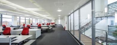 Neubau Bürogebäude Eching und AEC