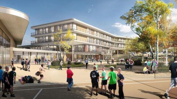 Neubau Mittelschule in Gersthofen
