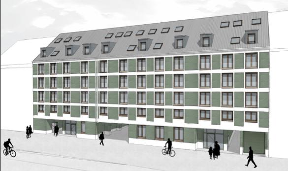 Neubau einer Wohnanlage in der Linprunstr. 13-19, München